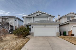 Photo 1: 127 Hawkmount Close NW in Calgary: Hawkwood Detached for sale : MLS®# A1094482