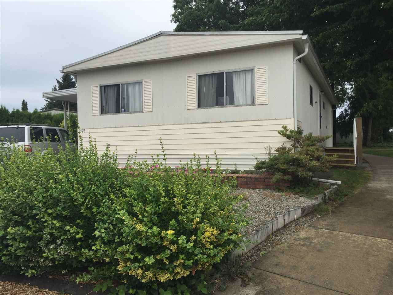 "Main Photo: 175 1840 160 Street in Surrey: King George Corridor Manufactured Home for sale in ""Breakaway Bays"" (South Surrey White Rock)  : MLS®# R2191518"