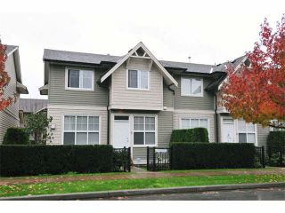 """Photo 1: 5 11720 COTTONWOOD Drive in Maple Ridge: Cottonwood MR Townhouse for sale in """"COTTONWOOD GREEN"""" : MLS®# V1106840"""
