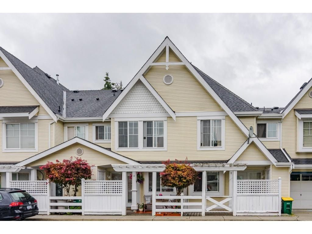 """Main Photo: 3 23575 119 Avenue in Maple Ridge: Cottonwood MR Townhouse for sale in """"HOLLYHOCK"""" : MLS®# R2490627"""