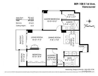 Photo 20: 809 108 E 1ST Avenue in Vancouver: Mount Pleasant VE Condo for sale (Vancouver East)  : MLS®# R2236809
