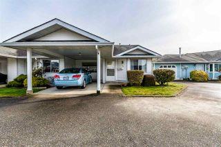 "Photo 1: 122 7610 EVANS Road in Chilliwack: Sardis West Vedder Rd Townhouse for sale in ""Cottonwood Retirement Village"" (Sardis)  : MLS®# R2441700"