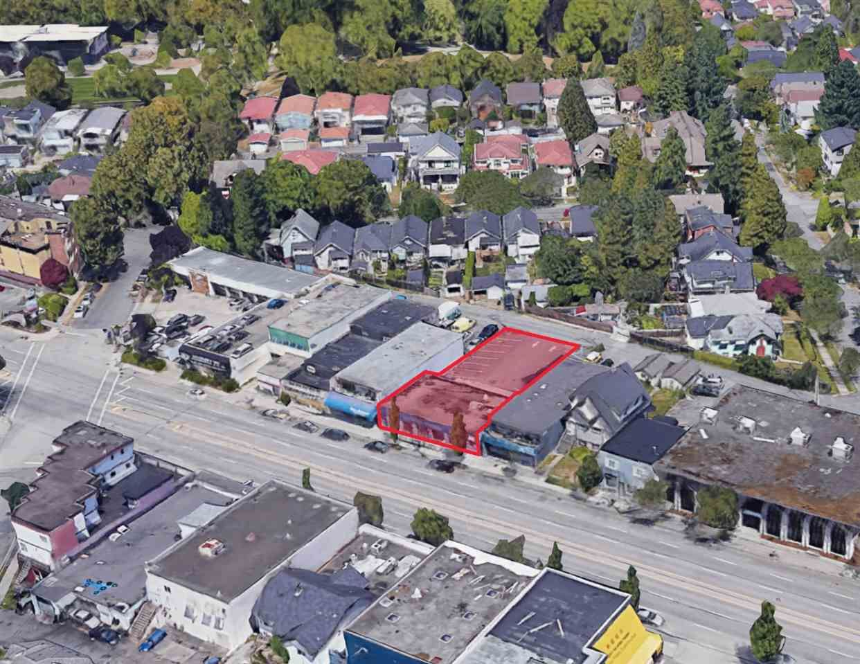 Main Photo: 1143 KINGSWAY in Vancouver: Knight Land Commercial for sale (Vancouver East)  : MLS®# C8036295