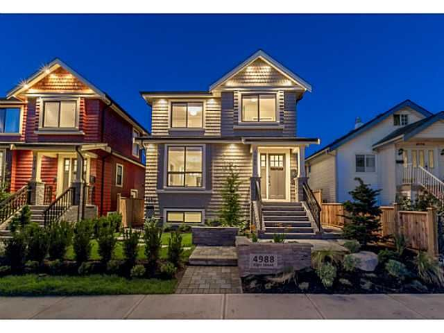 Main Photo: 4988 ELGIN Street in Vancouver: Knight House for sale (Vancouver East)  : MLS®# V1078955