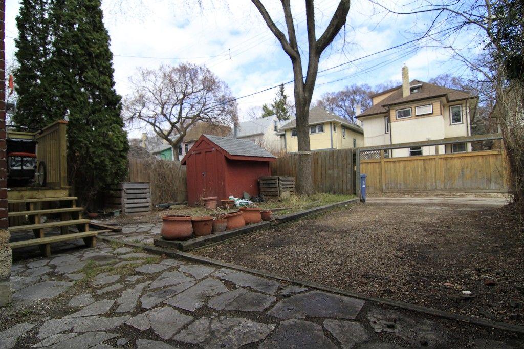 Photo 64: Photos: 87 Ruby Street in Winnipeg: Wolseley Single Family Detached for sale (West Winnipeg)  : MLS®# 1306696