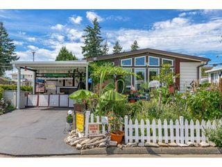 """Main Photo: 39 8670 156 Street in Surrey: Fleetwood Tynehead Manufactured Home for sale in """"WESTWOOD COURT"""" : MLS®# R2607538"""