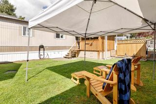 """Photo 25: 76 145 KING EDWARD Street in Coquitlam: Maillardville Manufactured Home for sale in """"MILL CREEK VILLAGE"""" : MLS®# R2574767"""