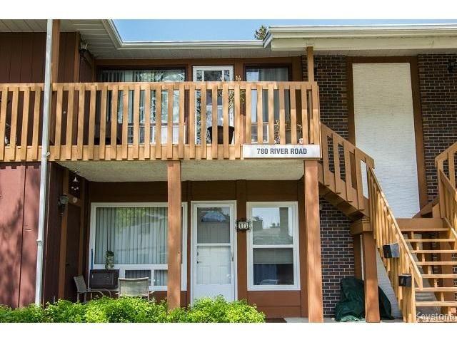 Main Photo: 780 River Road in WINNIPEG: St Vital Condominium for sale (South East Winnipeg)  : MLS®# 1513597