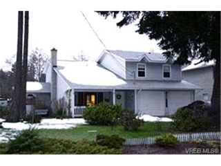 Photo 1:  in VICTORIA: Co Colwood Lake House for sale (Colwood)  : MLS®# 356127