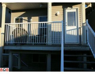 """Photo 8: 117 33751 7TH Avenue in Mission: Mission BC Townhouse for sale in """"HERITAGE PARK"""" : MLS®# F1003770"""