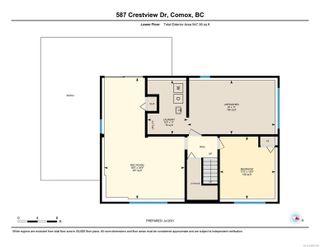 Photo 41: 587 Crestview Dr in : CV Comox (Town of) House for sale (Comox Valley)  : MLS®# 882395