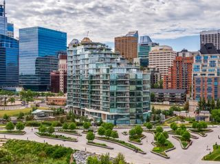 Photo 3: 407 738 1 Avenue SW in Calgary: Eau Claire Apartment for sale : MLS®# A1124073