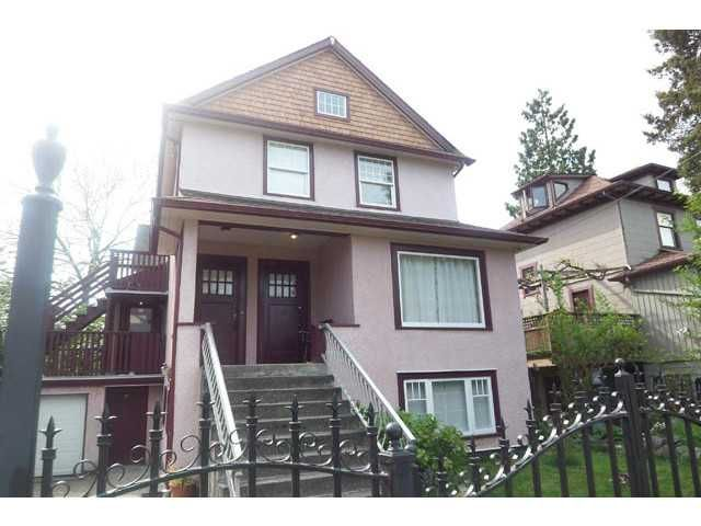 Main Photo: 1613 SALSBURY DR in Vancouver: Grandview VE Triplex for sale (Vancouver East)  : MLS®# V1102758