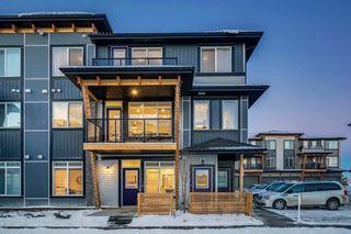 Main Photo: 4389 Seton Drive SE in Calgary: Seton Row/Townhouse for sale : MLS®# A1153085