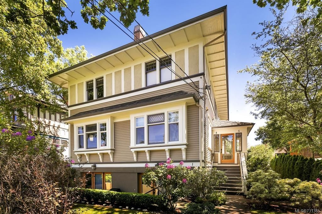 Main Photo: 2 727 Linden Ave in : Vi Fairfield West Condo for sale (Victoria)  : MLS®# 731385