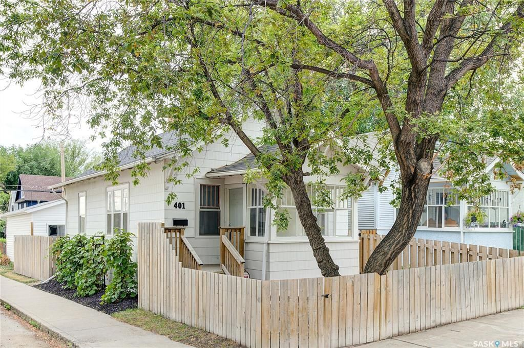 Main Photo: 401 25th Street West in Saskatoon: Caswell Hill Residential for sale : MLS®# SK870173