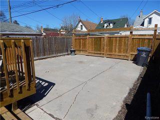 Photo 16: 815 Boyd Avenue in Winnipeg: North End Residential for sale (North West Winnipeg)  : MLS®# 1609014