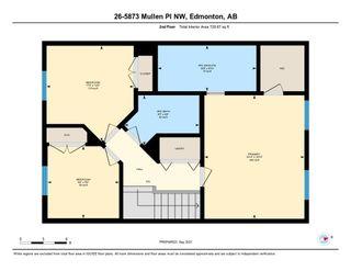 Photo 30: 26 5873 MULLEN Place in Edmonton: Zone 14 Townhouse for sale : MLS®# E4262184