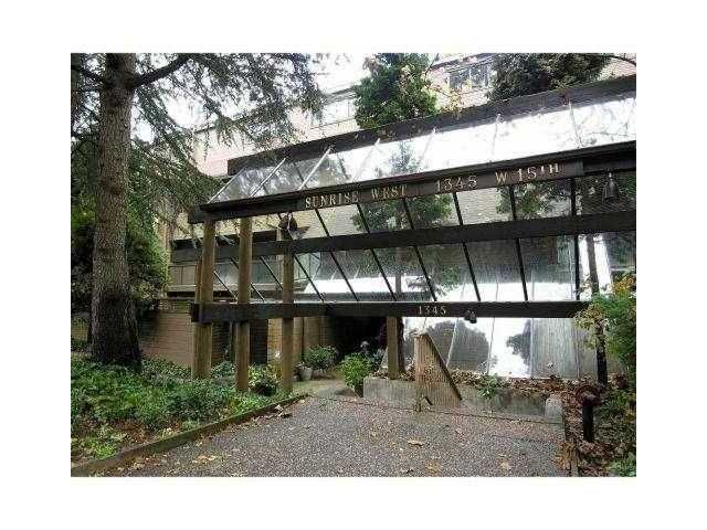 """Main Photo: 302 1345 W 15TH Avenue in Vancouver: Fairview VW Condo for sale in """"SUNRISE WEST"""" (Vancouver West)  : MLS®# V854783"""