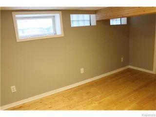Photo 11: 22 Carnarvan Road in WINNIPEG: St James Residential for sale (West Winnipeg)  : MLS®# 1600661