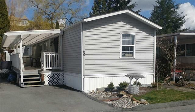 Main Photo: 60 3300 Horn Street in Abbotsford: Central Abbotsford Manufactured Home for sale : MLS®# r2253611