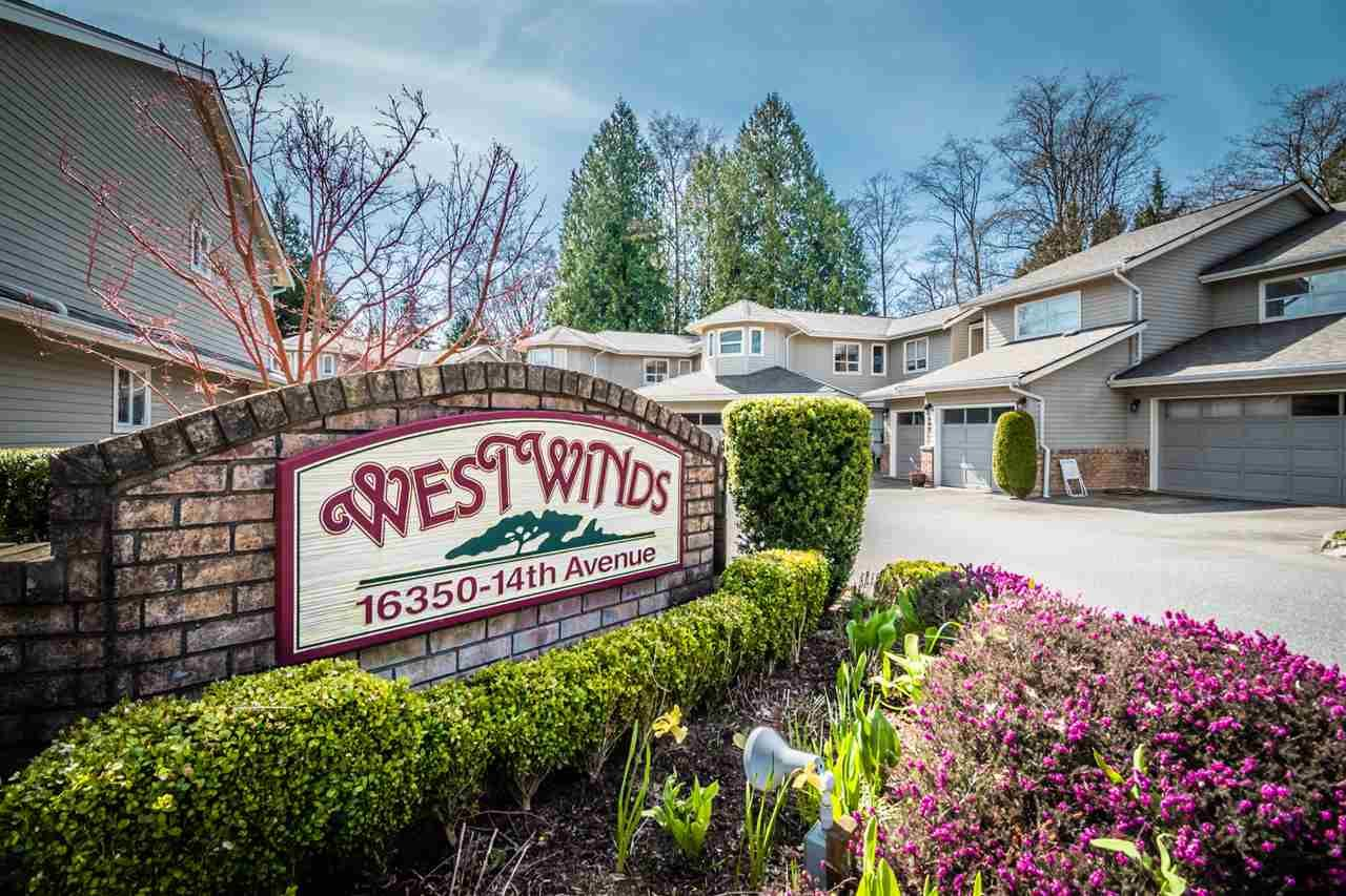 """Main Photo: 116 16350 14 Avenue in Surrey: King George Corridor Townhouse for sale in """"Westwinds"""" (South Surrey White Rock)  : MLS®# R2560885"""