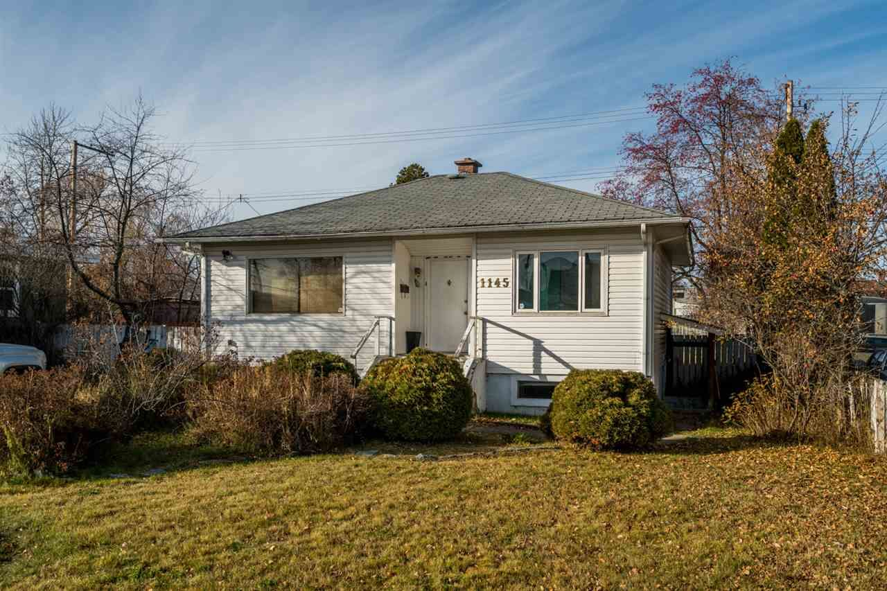 Main Photo: 1145 BURDEN Street in Prince George: Central House for sale (PG City Central (Zone 72))  : MLS®# R2416658