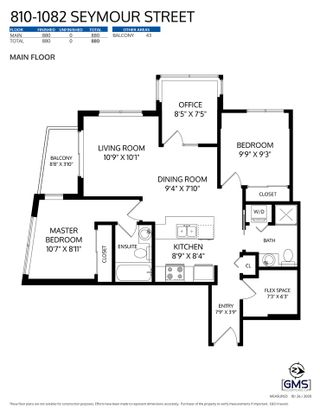 """Photo 24: 810 1082 SEYMOUR Street in Vancouver: Downtown VW Condo for sale in """"FREESIA"""" (Vancouver West)  : MLS®# R2512604"""