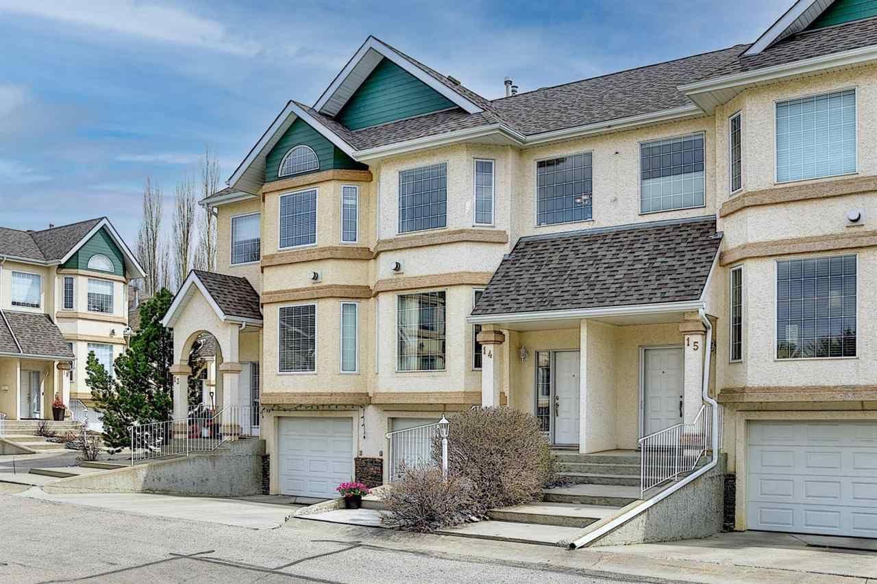 Main Photo: 14 11717 9B Avenue in Edmonton: Zone 16 Townhouse for sale : MLS®# E4244268