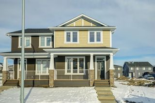 Photo 2: 110 Red Embers Common NE in Calgary: Redstone Semi Detached for sale : MLS®# A1051113