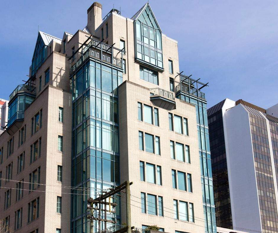 Main Photo: 801 1080 HOWE STREET in Vancouver: Downtown VW Office for lease (Vancouver West)  : MLS®# C8038496