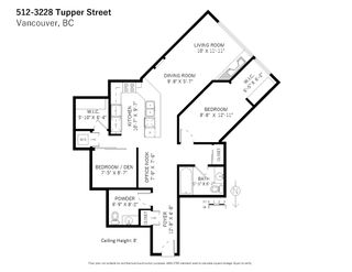 Photo 28: 512 3228 TUPPER STREET in Vancouver: Cambie Condo for sale (Vancouver West)  : MLS®# R2514845