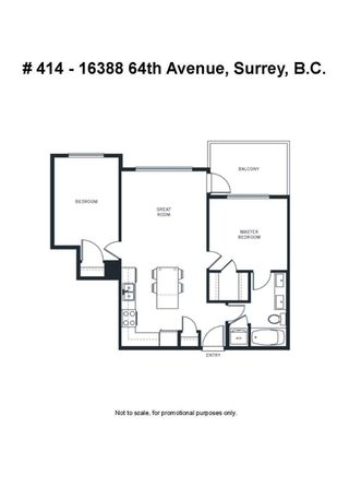 """Photo 28: # 414 -16388 64 Avenue in Surrey: Cloverdale BC Condo for sale in """"THE RIDGE AT BOSE FARMS"""" (Cloverdale)  : MLS®# R2143424"""