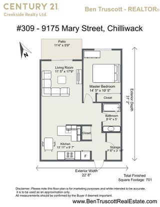 """Photo 17: 309 9175 MARY Street in Chilliwack: Chilliwack W Young-Well Condo for sale in """"Ridgewood Court"""" : MLS®# R2572013"""