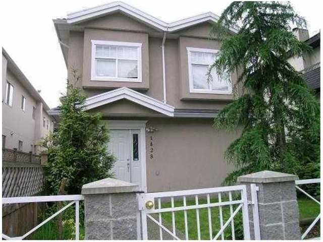 Main Photo: 1428 E 8TH Avenue in Vancouver: Grandview VE 1/2 Duplex for sale (Vancouver East)  : MLS®# V827285