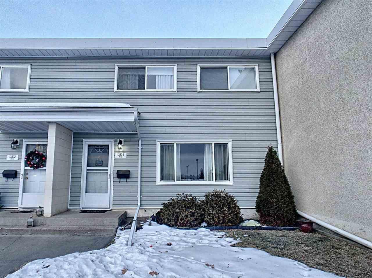 Main Photo: 13334 89 Street in Edmonton: Zone 02 Townhouse for sale : MLS®# E4224841