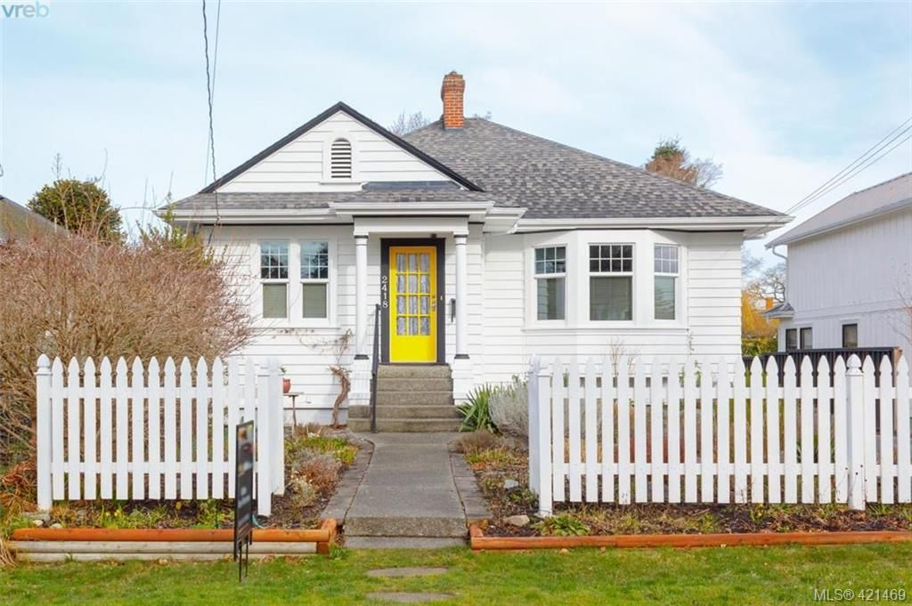 Main Photo: 2418 Central Ave in VICTORIA: OB South Oak Bay House for sale (Oak Bay)  : MLS®# 834096