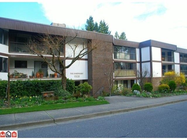 "Main Photo: 201 1520 VIDAL Street: White Rock Condo for sale in ""THE SANDHURST"" (South Surrey White Rock)  : MLS®# F1215493"