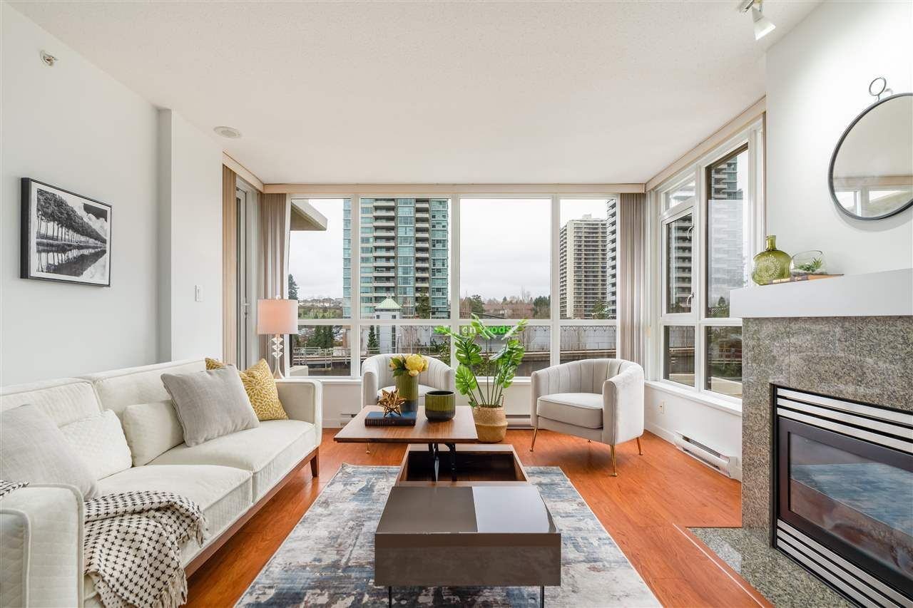 """Main Photo: 706 2088 MADISON Avenue in Burnaby: Brentwood Park Condo for sale in """"Fresco Renaissance Towers"""" (Burnaby North)  : MLS®# R2570542"""