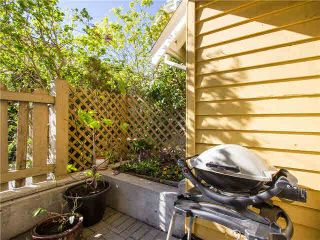 """Photo 10: 1625 MCLEAN Drive in Vancouver: Grandview VE Townhouse for sale in """"COBB HILL"""" (Vancouver East)  : MLS®# V1116697"""