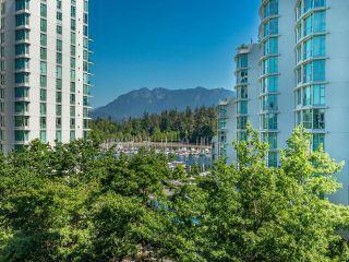"Photo 1: 505 1710 BAYSHORE Drive in Vancouver: Coal Harbour Condo for sale in ""BAYSHORE GARDENS"" (Vancouver West)  : MLS®# R2607381"
