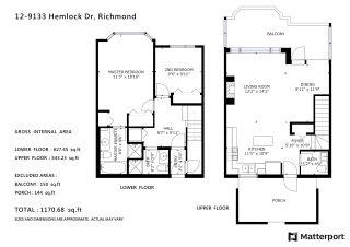 Photo 5: 12 9133 HEMLOCK Drive in Richmond: McLennan North Townhouse for sale : MLS®# R2590846
