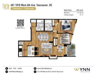 """Photo 19: 401 1818 WEST 6TH Avenue in Vancouver: Kitsilano Condo for sale in """"CARNEGIE"""" (Vancouver West)  : MLS®# R2618856"""