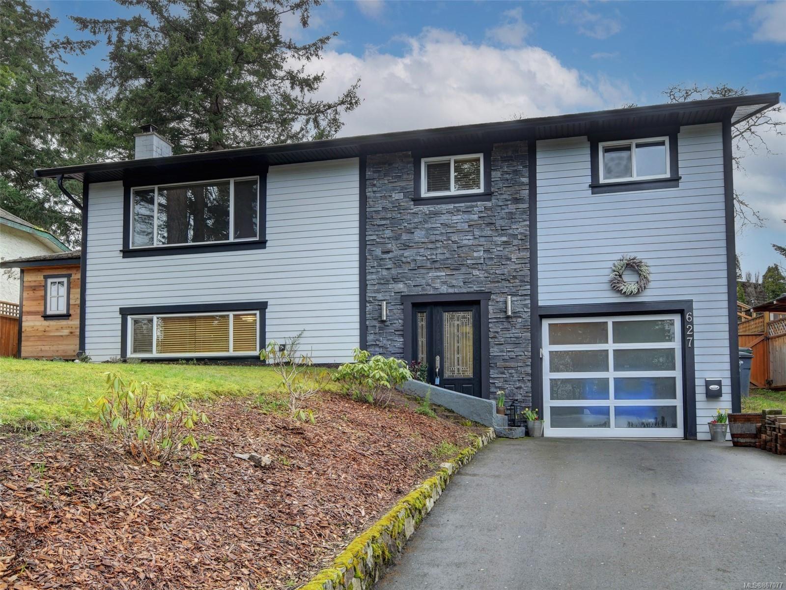Main Photo: 627 Vanalman Ave in : SW Northridge House for sale (Saanich West)  : MLS®# 867077
