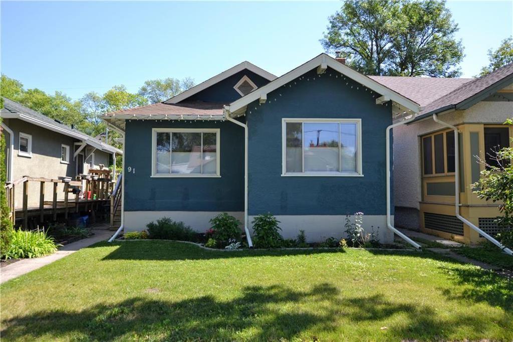Main Photo: 91 Sherburn Street in Winnipeg: Wolseley Residential for sale (5B)  : MLS®# 202021391