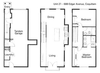 """Photo 20: 21 688 EDGAR Avenue in Coquitlam: Coquitlam West Townhouse for sale in """"THE GABLE BY MOSAIC"""" : MLS®# R2168926"""
