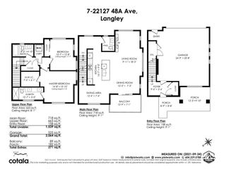 """Photo 34: 7 22127 48A Avenue in Langley: Murrayville Townhouse for sale in """"Fraser"""" : MLS®# R2620983"""