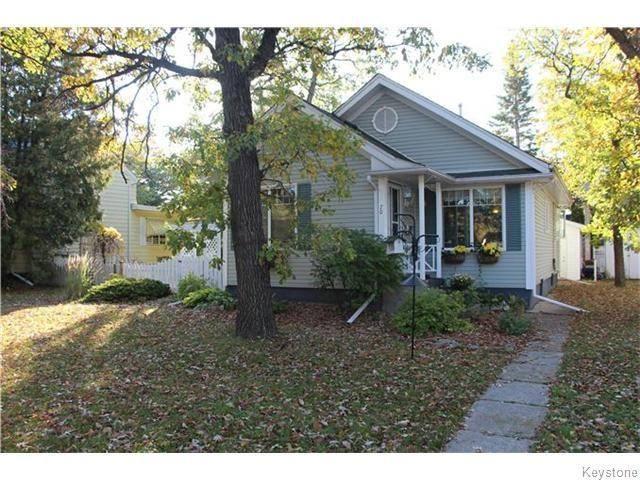 Main Photo: 70 Elm Park Road in Winnipeg: Elm Park Residential for sale (2C)  : MLS®# 1625486