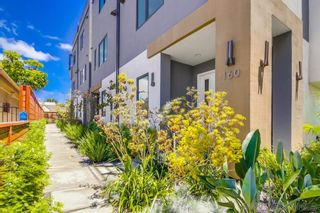 Photo 2: HILLCREST Townhouse for sale : 3 bedrooms : 160 W W Robinson Ave in San Diego