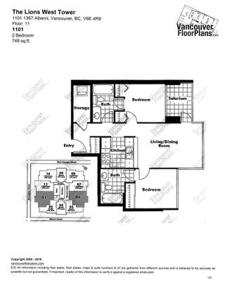 Photo 15: 1101 1367 ALBERNI Street in Vancouver: West End VW Condo for sale (Vancouver West)  : MLS®# R2062584